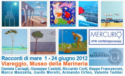 Mercurio arte, Racconti di mare, Museo della Marineria di Viareggio